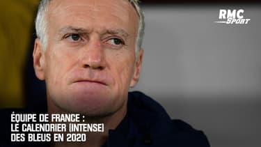 Équipe de France : Le calendrier (intense) des Bleus en 2020