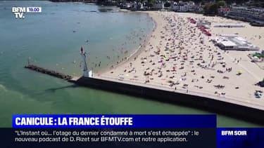 Retour sur une journée caniculaire en France