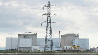 La centrale de Fessenheim, le 26 juin 2020 dans le Haut-Rhin