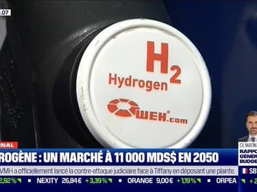 L'hydrogène, un marché à 11.000 milliards de dollars en 2050 selon Bank of America