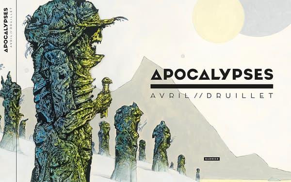 Apocalypses par Druillet et Avril