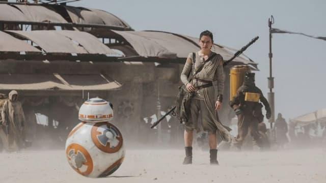Image du tournage de Star Wars 7
