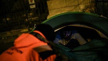 Le nombre de sans-abri a baissé en 2020 (illustration)