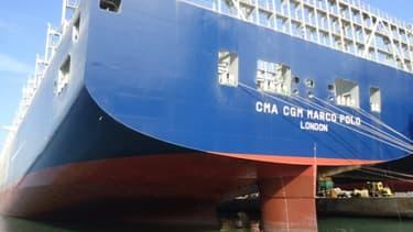 Le Marco Polo est désormais le plus gros porte conteneur du monde.