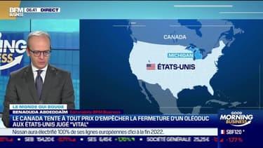 Benaouda Abdeddaïm : Le Canada tente à tout prix d'empêcher la fermeture d'un oléoduc aux États-Unis - 12/05
