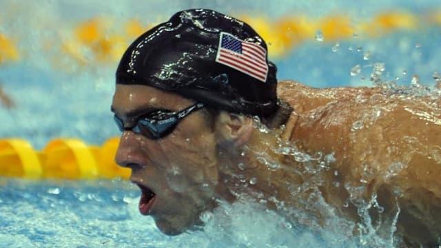 Michael Phelps s'est classé troisième de cette course