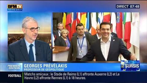 """""""Ce n'est pas un problème de la Grèce face à l'Europe c'est un problème européen"""" - 08/07"""