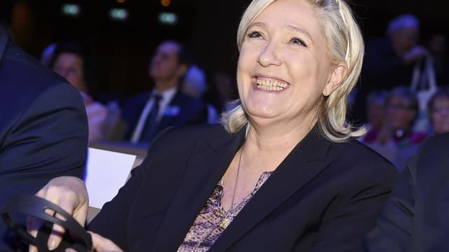 Marine Le Pen a défié les policiers de venir le récupérer.