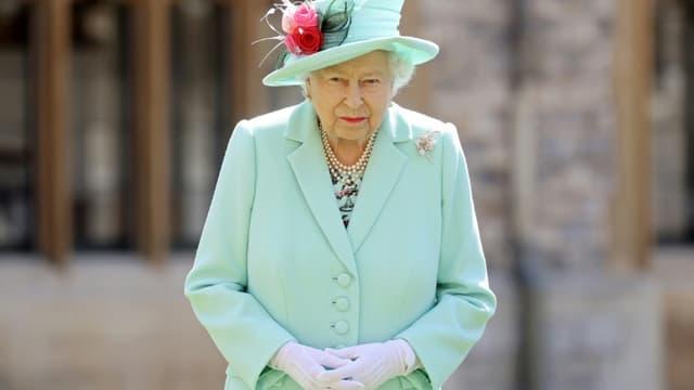 La reine Elizabeth II, le 17 juillet 2020 à Windsor