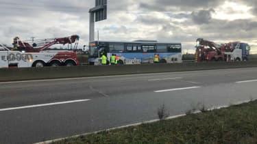 Un accident de bus s'est produit près de Rambouillet.