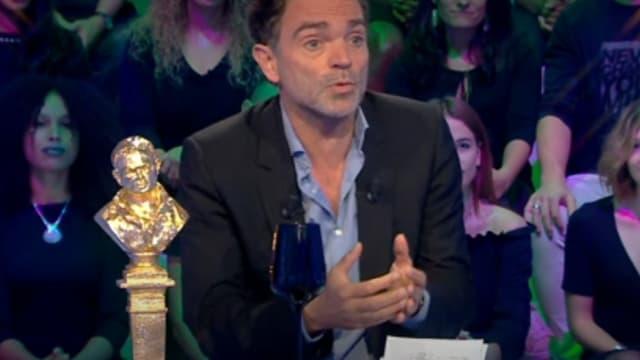 """Yann Moix dans """"Les Terriens du samedi"""", le 29 septembre 2018"""