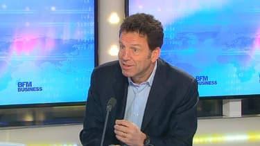 Geoffroy Roux de Bézieux était l'invité de BFM Business, ce lundi 13 janvier.