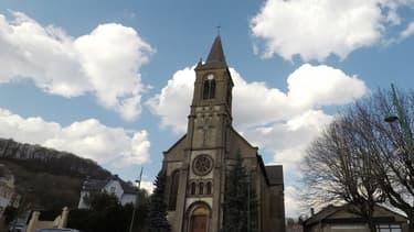 L'église Saint-Jules du quartier de Gouraincourt à Longwy