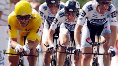 Cancellara a craqué dans l'ascension de la côte de la Croix de la Serra