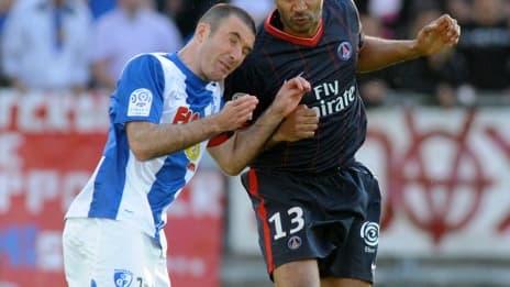 Laurent Batlles et Sammy Traore