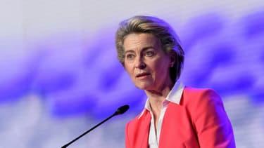 La présidente de la Commission européenne, Ursula von der Leyen