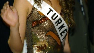 Election de Miss Turquie (illustration)