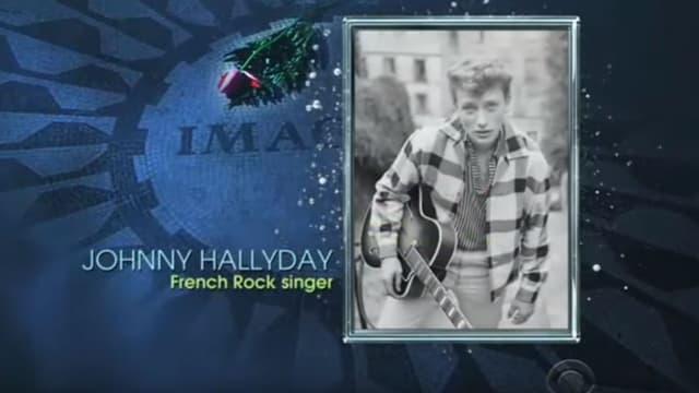 Un hommage à Johnny Hallyday diffusé durant la cérémonie des Grammy Awards