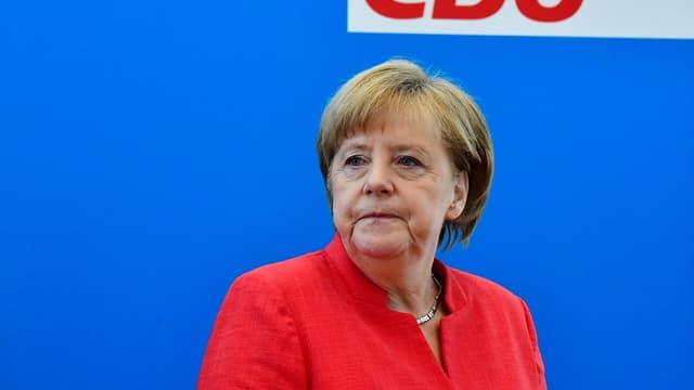 Angela Merkel, le 18 juin 2018.