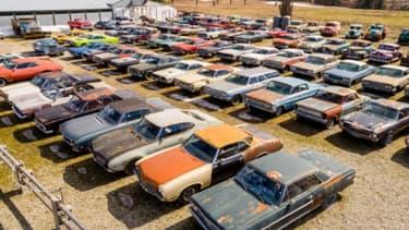 340 voitures anciennes, c'est la collection mise en vente en même temps que la maison d'un citoyen britannique.