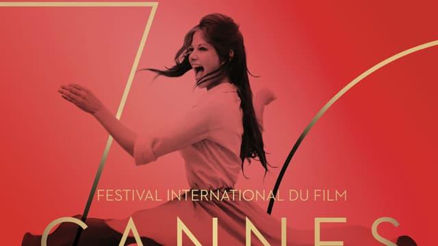 L'affiche de la 70ème édition du Festival de Cannes est incarnée par Claudia Cardinale