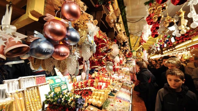 Un marché de Noël (photo d'illustration)