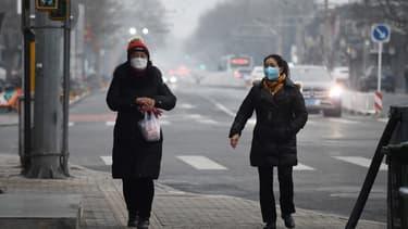 Pékin, en Chine, le 20 février 2020.