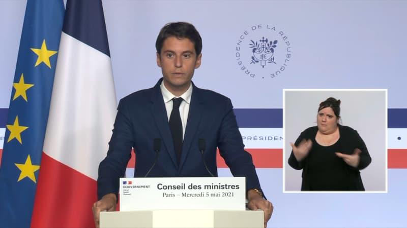 """Covid-19: Gabriel Attal évoque """"une amélioration nette de la situation sanitaire"""" en France"""