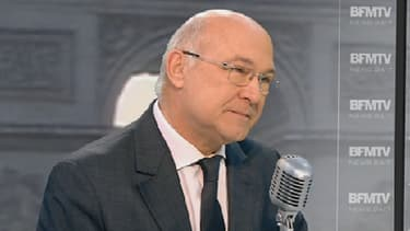 Michel Sapin était l'invité de Jean-Jacques Bourdin jeudi matin sur BFMTV et sur RMC.