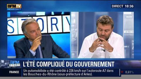 """L'été compliqué du gouvernement: """"Ce n'est pas seulement l'été qui est difficile mais la rentrée va l'être également"""", a estimé Jean-Christophe Buisson"""