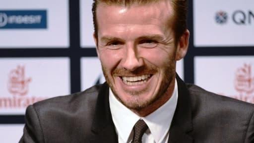 S'il rentre en jeu ce dimanche, David Beckham deviendrait le 400e joueur à évoluer sous les couleurs du PSG.