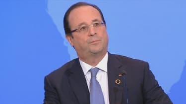 François Hollande lors du sommet France-Afrique, le 7 décembre.