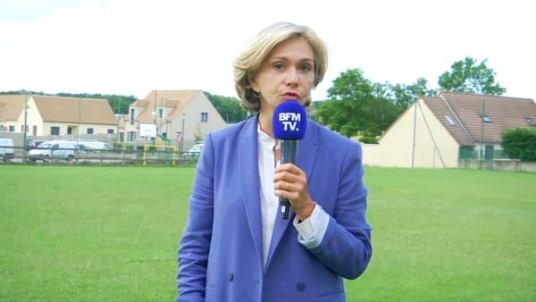 La présidente de la région Île-de-France et candidate à sa réélection Valérie Pécresse sur BFMTV le 21 juin 2021.