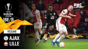 Résumé : Ajax (Q) 2-1 Lille - Ligue Europa 16e de finale retour