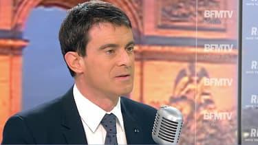 """Valls, le 12 janvier sur le plateau de BFMTV: le plan Vigipirate """"maintenu au plus haut niveau"""""""