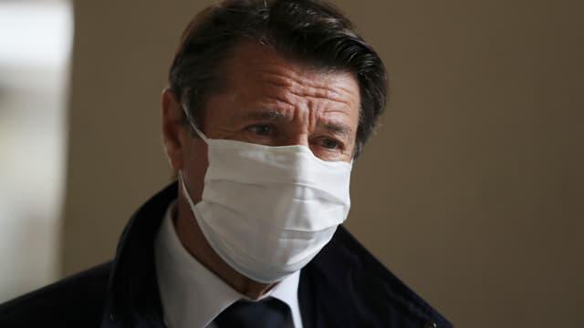 Le maire LR de Nice, Christian Estrosi, le 28 avril 2020