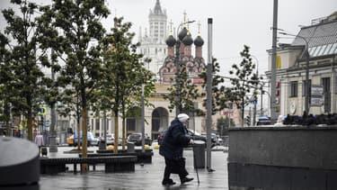 Moscou a été l'une des villes russes les plus touchées par l'épidémie de Covid-19.