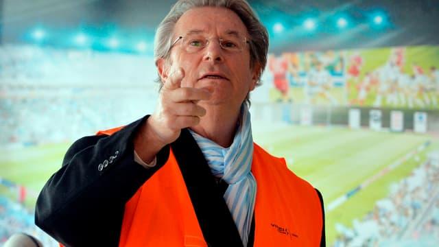Jacky Lorenzetti, président du Racing Métro