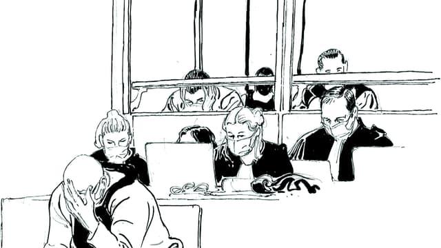 """Le procès de l'attentat de """"Charlie Hebdo"""" (Photo d'illustration)"""