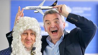 Michael O'Leary, PDG de Ryanair, s'étonne du bruit qu'a fait cette annonce.
