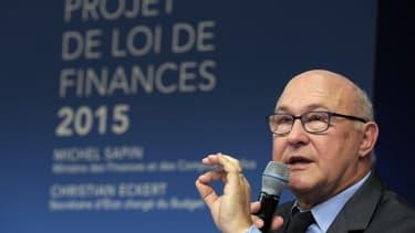 Michel Sapin n'entend pas durcir les économies prévues dans le Budget 2015.