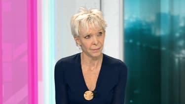 Tonie Marshall sur le plateau de BFMTV