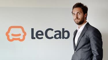 Benjamin Cardoso a lancé LeCab en 2011. Il avait 24 ans l'époque.