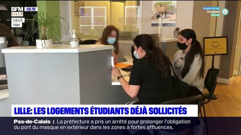 Lille: les logements étudiants déjà sollicités