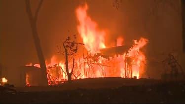 Incendies à Paradise, dans le comté de Butte (Californie, États-Unis)