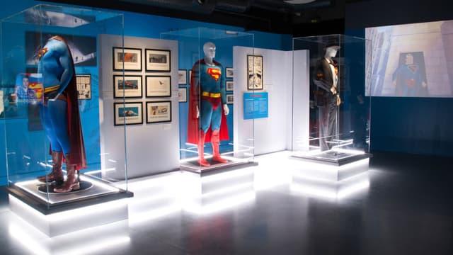 L'exposition DC Comics du musée Art Ludique fin 2017.