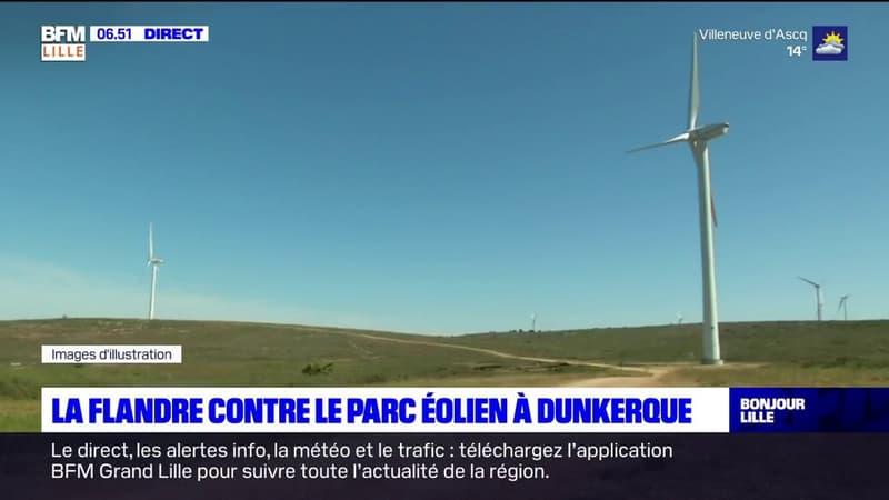 Dunkerque: la Flandre contre le projet éolien