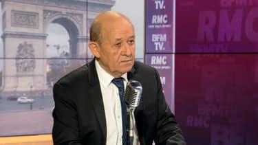 Jean-Yves Le Drian le 13 novembre 2020