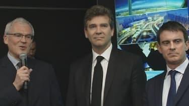 Manuel Valls effectue son premier déplacement officiel sur le thème de l'entreprise ce 10 avril