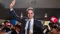 Le futur chef du gouvernement Kyriakos Mitsotakis